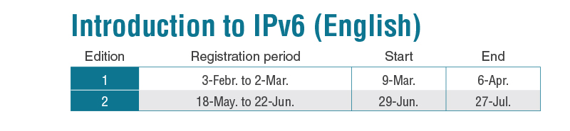 Introduction to IPv6 (English)