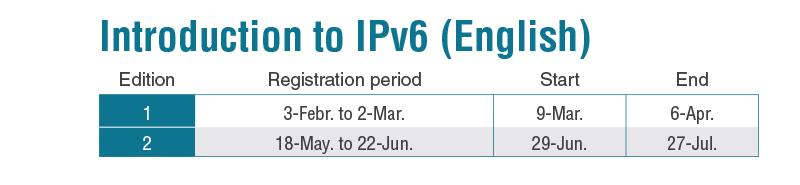 IPv6 english 2020